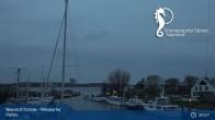 Archiv Foto Webcam Timmendorfer Strand: Niendorfer Hafen 19:00
