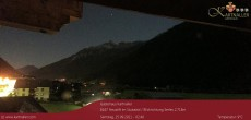 Archived image Webcam View to Neustift and Serles 20:00