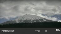 Archiv Foto Webcam Blick von Innsbruck auf den Patscherkofel 17:00