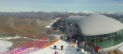 Archived image Webcam Tirol's highest Coffee House 08:00