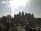 Archiv Foto Webcam Blick auf das Schloss Schwerin 04:00