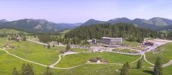 Archived image Webcam Hotel Schwägalp - Säntis mountain 04:00