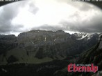 Archived image Webcam Ebenalp - View Marwees Ridge 08:00