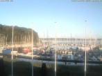 Archiv Foto Webcam Yachthafen Flensburg 02:00