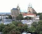 Archived image Webcam Erfurt - Cathedral Square 00:00
