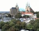 Archived image Webcam Erfurt - Cathedral Square 02:00