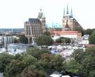 Archived image Webcam Erfurt - Cathedral Square 04:00