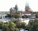 Archived image Webcam Erfurt - Cathedral Square 12:00