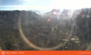 Archived image Webcam View from mountain Mutspitze towards Meran 06:00