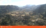 Archived image Webcam View from mountain Mutspitze towards Meran 10:00