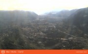 Archived image Webcam View from mountain Mutspitze towards Meran 12:00