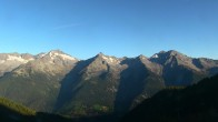 Archived image Webcam Hiking area Klausberg in South Tyrol (1.950 m) - View of lifts Klaussee I and II 02:00