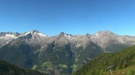 Archived image Webcam Hiking area Klausberg in South Tyrol (1.950 m) - View of lifts Klaussee I and II 08:00