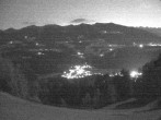 Archived image Webcam Outlook from mountain Getzenberg (Val Pusteria, South Tyrol) 22:00