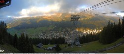 Archiv Foto Webcam Jakobshorn - Blick nach Davos 02:00