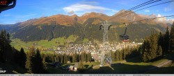 Archiv Foto Webcam Jakobshorn - Blick nach Davos 04:00