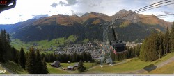 Archiv Foto Webcam Jakobshorn - Blick nach Davos 08:00