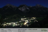 Archived image Webcam San Vigilio in South Tyrol at 1.500 m 22:00