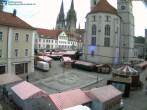 Archived image Webcam Regensburg: View Neupfarr Place 02:00