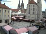 Archived image Webcam Regensburg: View Neupfarr Place 06:00