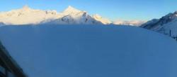 Archived image Webcam Riffelberg Panorama Zermatt 08:00