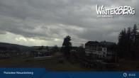 Archived image Webcam Neuastenberg Village and Slopes 09:00