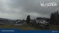 Archived image Webcam Neuastenberg Village and Slopes 13:00