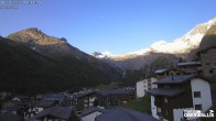 Archived image Webcam Astor Saas-Fee 00:00