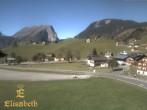 Archiv Foto Webcam Schoppernau: Ausblick Hotel Elisabeth 06:00