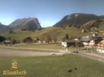 Archiv Foto Webcam Schoppernau: Ausblick Hotel Elisabeth 08:00