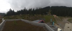 Archived image Webcam Base Station Rothorn Gondola Lenzerheide 10:00