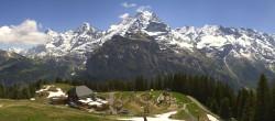 Archived image Webcam Schilthorn Allmendhubel Roundshot 06:00