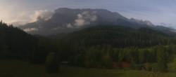 Archiv Foto Webcam Garmisch-Partenkirchen: Schloss Elmau 02:00