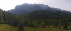Archiv Foto Webcam Garmisch-Partenkirchen: Schloss Elmau 06:00