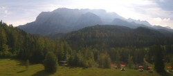 Archiv Foto Webcam Garmisch-Partenkirchen: Schloss Elmau 08:00
