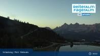 Archiv Foto Webcam Reiteralm - Blick auf den Speichersee 19:00