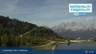 Archiv Foto Webcam Reiteralm - Blick auf den Speichersee 09:00