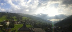Archived image Webcam Panorama: Alpinresort Saalbach 02:00