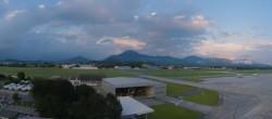 Archiv Foto Webcam Flughafen Salzburg 19:00