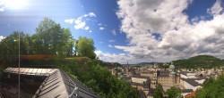 Archiv Foto Webcam Panorama Salzburg Festungsbahn 13:00