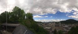 Archiv Foto Webcam Panorama Salzburg Festungsbahn 04:00