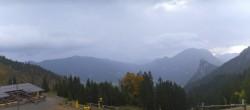 Archived image Webcam Oberammergau - Mountain hut Kolbensattel 02:00