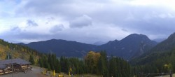 Archived image Webcam Oberammergau - Mountain hut Kolbensattel 04:00