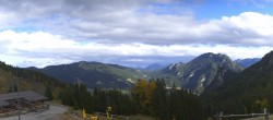 Archived image Webcam Oberammergau - Mountain hut Kolbensattel 08:00