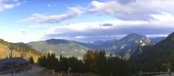 Archived image Webcam Oberammergau - Mountain hut Kolbensattel 10:00