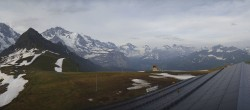 Archived image Webcam Panoramic view from the Männlichen 00:00