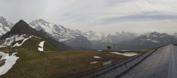 Archived image Webcam Panoramic view from the Männlichen 10:00