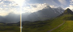 Archived image Webcam Panoramic view from the Männlichen 02:00