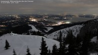 Archived image Webcam Kampenwand - View to the North 12:00