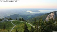 Archived image Webcam Kampenwand - View to the North 14:00